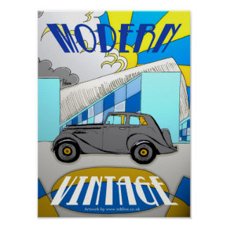 Modern-Vintage-Milton poster