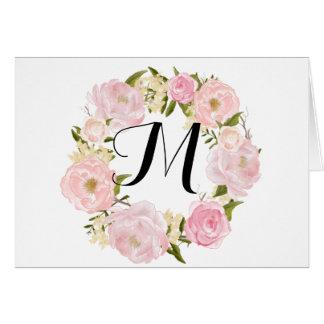 Modern Wedding Thank You Greeting Cards