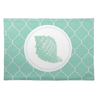 Modern Vintage Seashell Placemat