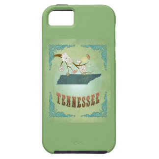 Modern Vintage Tennessee State Map – Sage Green iPhone SE/5/5s Case