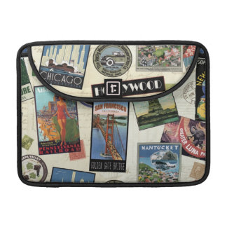 Modern Vintage Travel USA MacBook Pro Sleeves