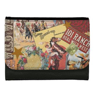 modern vintage western cowgirl leather wallets