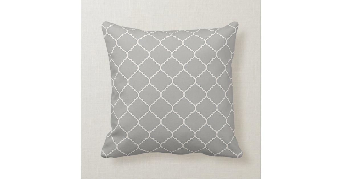 Modern Vintage White Christmas pillow Zazzle