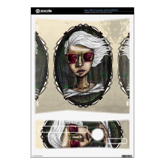 Modern Vintage Xbox360 Skin Xbox 360 S Console Skin