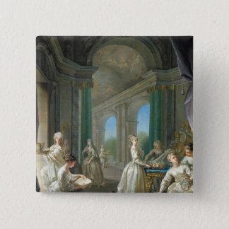 Modern Virgins, 1728 Button