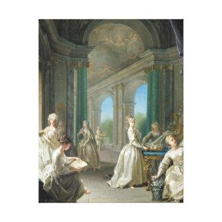 Modern Virgins, 1728 Canvas Print
