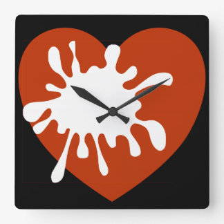 Modern Wall Clock-African Design Of Spreading Love
