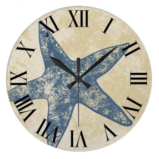 Modern Wall Clock - Starfish Clock
