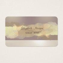 Modern  Watercolor Brush Stroke Business Card