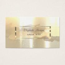 Modern  Watercolor Brush Stroke,Frame Business Card