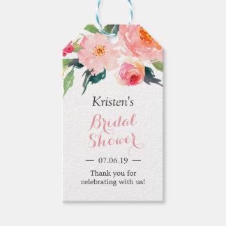 Free bridal shower favor tags wedding invitation sample gift tags favor zazzle free printable negle Choice Image