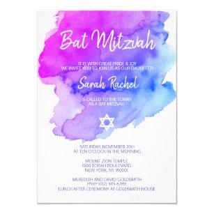 Bar Bat Mitzvah Invitations Zazzle