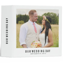 Modern Wedding Day | Wedding Photo Binder