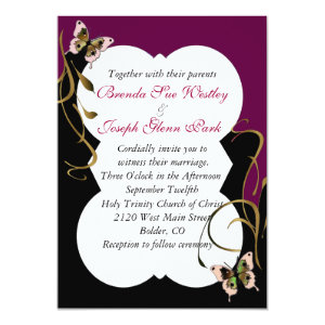 Modern Wedding Invitation 5