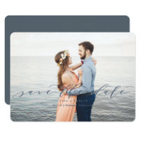 Modern Wedding Save the Dates Card