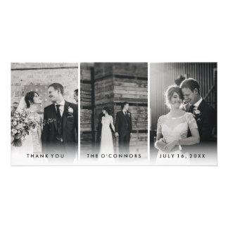 Modern Wedding Thank You Photo Cards II