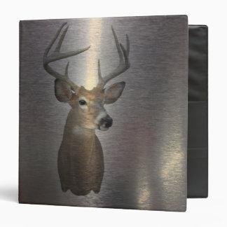 modern western country deer head binder