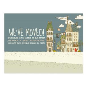 postcard change of address cards