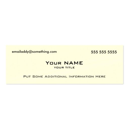 Modern White QR Code Business Card Template