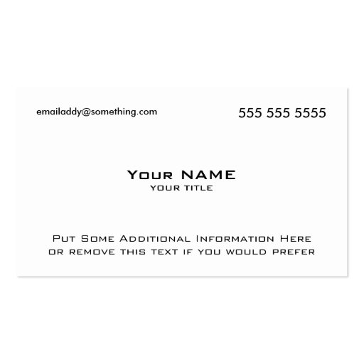 Modern White QR Code Double-Sided Standard Business Cards (Pack Of 100)