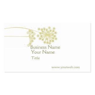 Modern Wild Flower Floral Business Card Templates