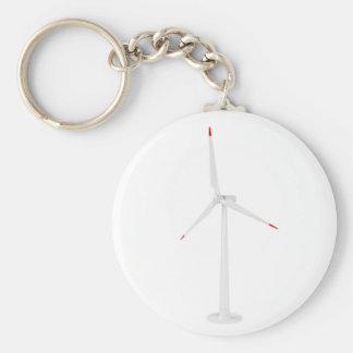 Modern wind turbine keychain