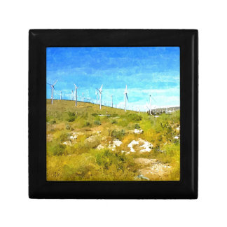 Modern Windmills Keepsake Box