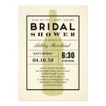 Modern Wine Bridal Shower Invitations