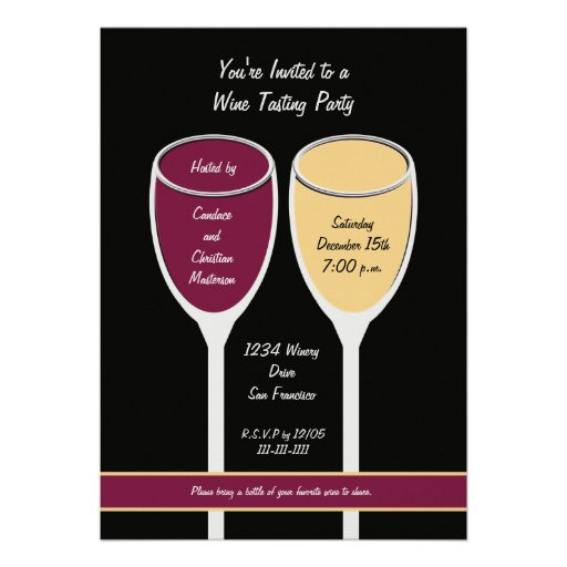 900+ Wine Tasting Party Invitations, Wine Tasting Party Announcements & Invites | Zazzle