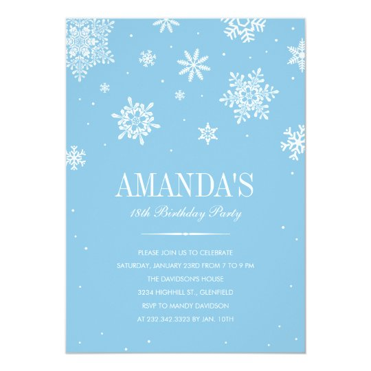 Modern Winter Wonderland Invitations E Aa A Zkrqs Jpg 540x540 On Zazzle
