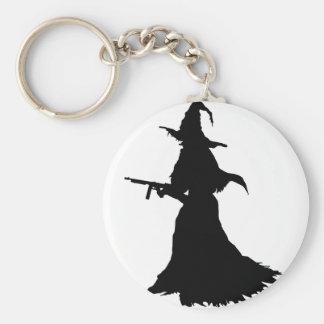 Modern Witch Keychain