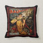 Modern witch of Endor Halloween Pillow