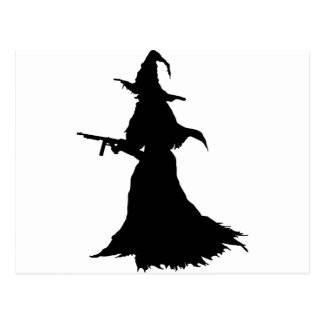 Modern Witch Postcard