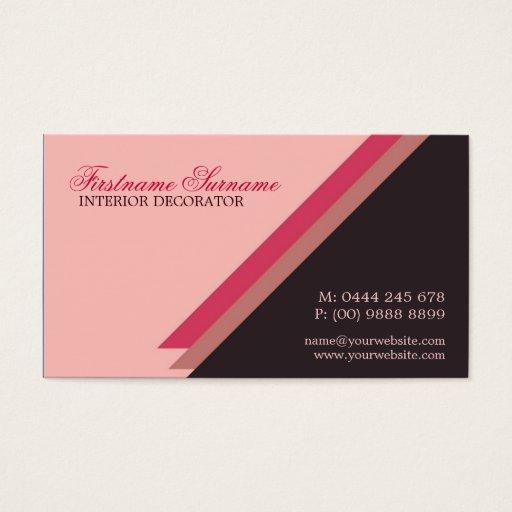 Modern Woman Simple Stylish Business Business Card