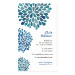 Modern Womens Floral Business Card Template