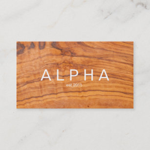 Wood background business cards zazzle modern wood grain background design business card colourmoves