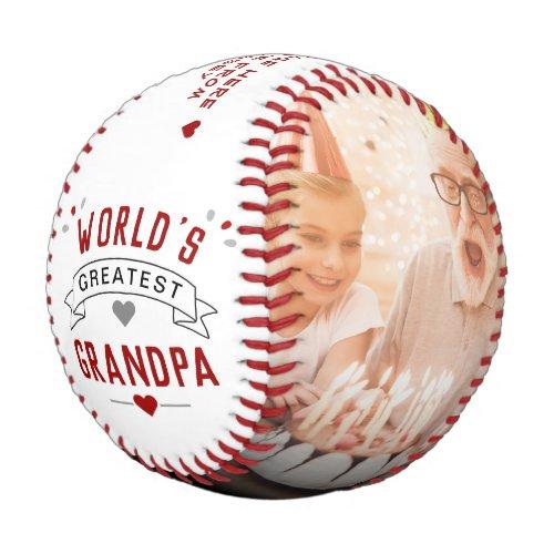 Modern Worlds Greatest Grandpa 2_Photo Baseball