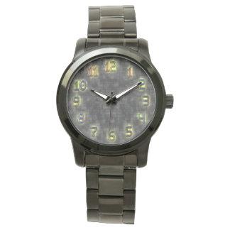 Modern Yelloe Glow Art Watch