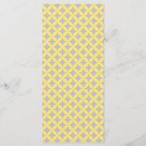 Modern Yellow and Gray Circle Pattern