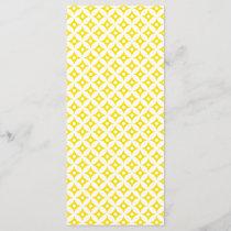 Modern Yellow and White Circle Polka Dots Pattern
