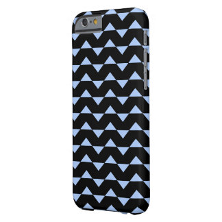 MODERN ZIG ZAG PATTERN (BLUE) iPhone 6 Case