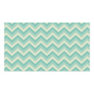 Modern Zigzag Mommy Calling Card Business Cards