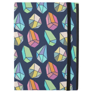 ModernAbstract Colorful Crystal Pattern iPad Pro Case