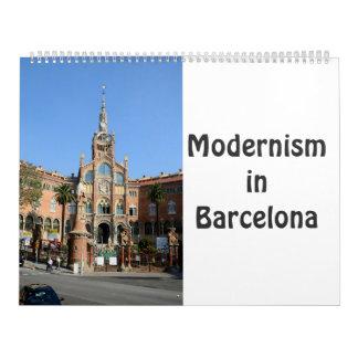 Modernism in Barcelona Calendar