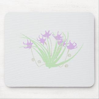 Modernismo flores especie Noveau flowers Alfombrilla De Ratón