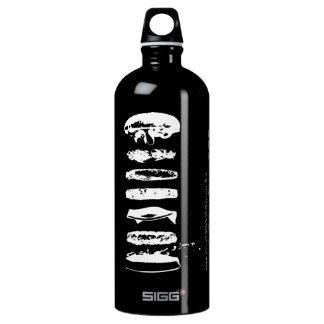 Modernist Cuisine Silkscreen HamburgerWater Bottle SIGG Traveler 1.0L Water Bottle