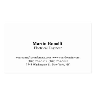 Engineer electrical business cards templates zazzle for Electrical engineer business card