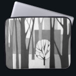 "Modernist Neoprene 15&quot; Laptop Sleeve<br><div class=""desc"">A 15&quot; neoprene laptop sleeve featuring an original 1968 Midcentury Modern painting of a city and tree by my late grandmother,  Ethel Sweet.</div>"