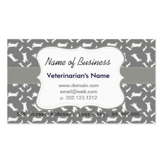 Modernist Plain Bold Double-Sided Standard Business Cards (Pack Of 100)