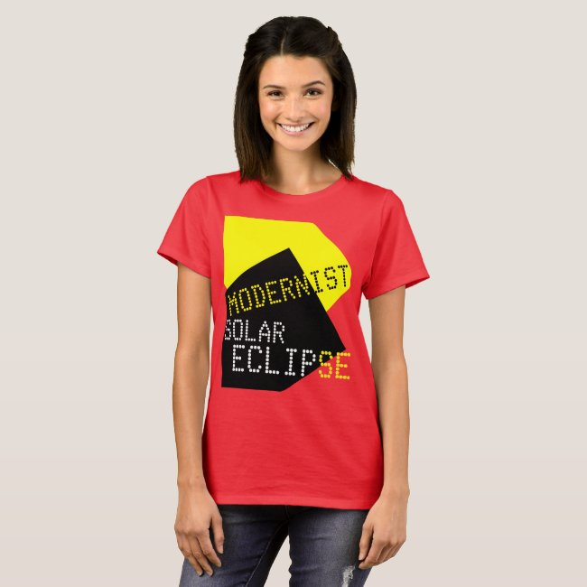 Modernist Solar Eclipse Funny customizable